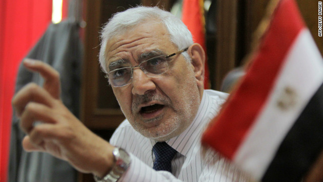 Egyptian presidential candidate Abdel Moneim Aboul Fotouh was carjacked and beaten by masked gunmen.