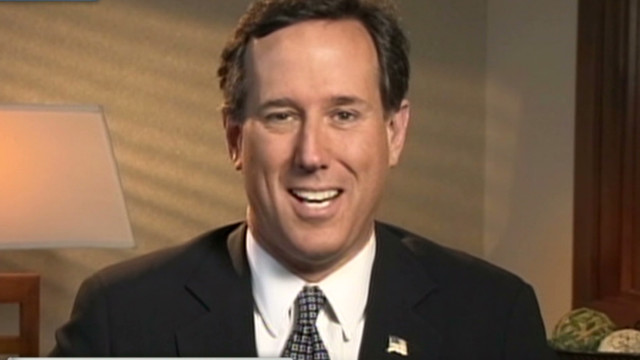 Santorum: Romney on wrong team