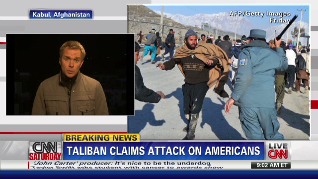 Taliban claim responsibility for attack