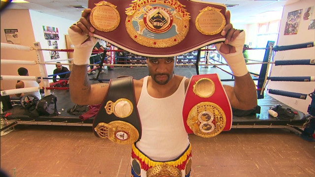 From homeless to World Champion