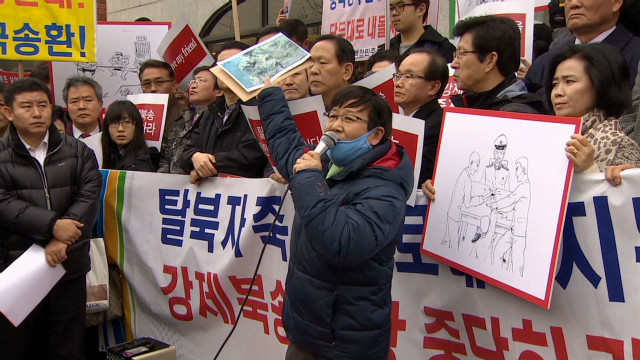 North Korean defectors face repatriation