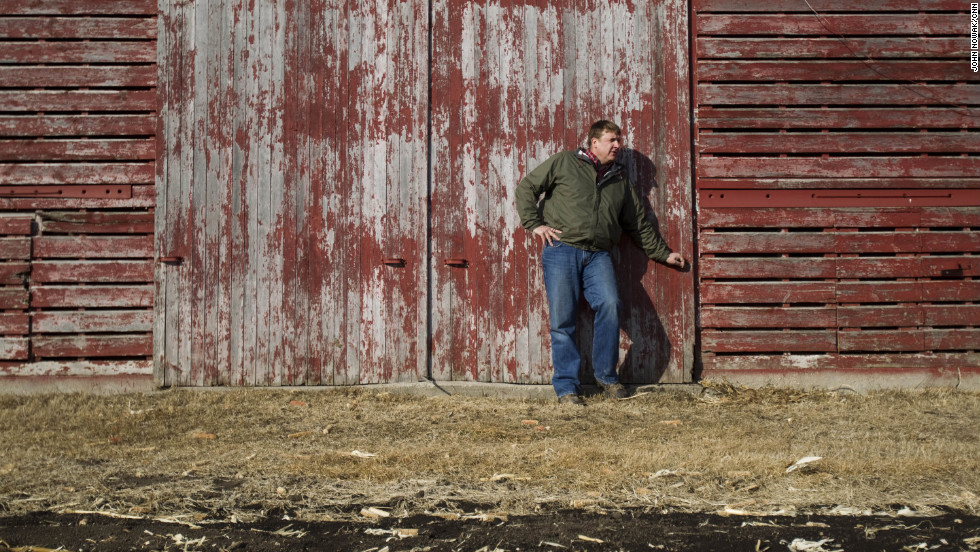 "Tofteland is a third generation farmer in Minnesota. ""When you plant the crop and all of a sudden the field is green, it matures and you tender it and care for it all summer, and the fall comes and it turns a golden brown,"" he says, ""it's a great, great feeling."""