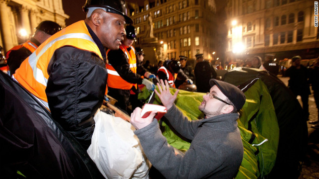 Occupy London vows to carry on