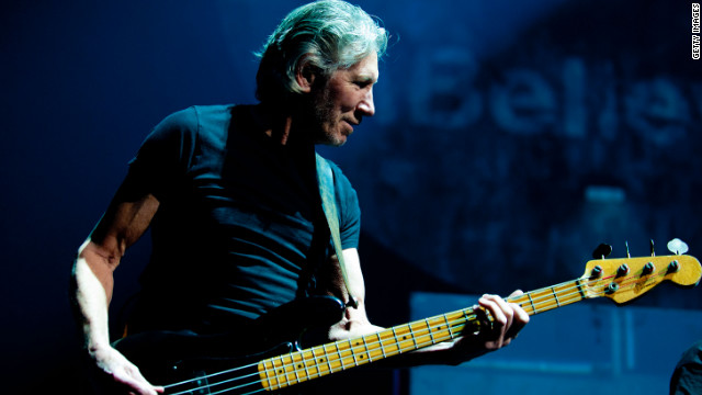 "Roger Waters performs ""The Wall"" in Philadelphia in November 2010."