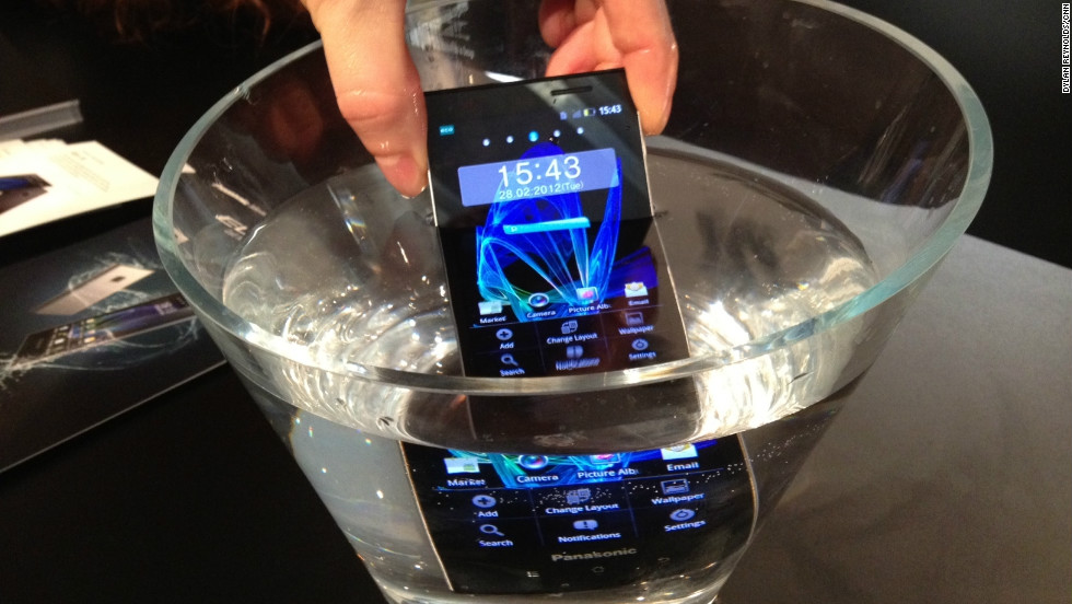 Panasonic's Eluga Power smartphone is among the new breed of waterproof devices.
