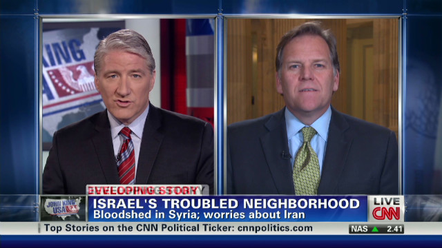 Discussing Syria, Iran and Michigan