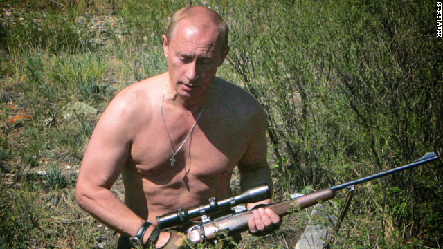 Putin's memorable alpha male moments