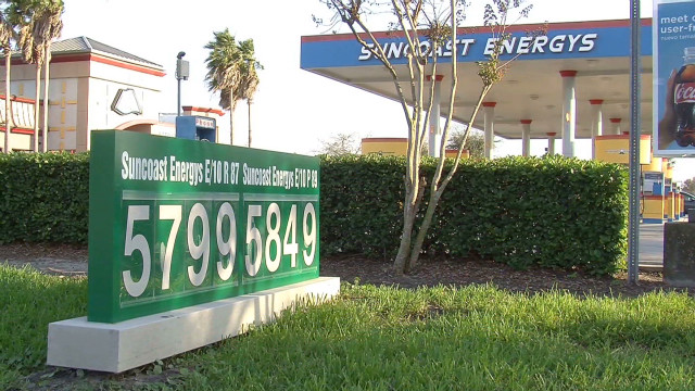 Gas prices hinder Florida tourism
