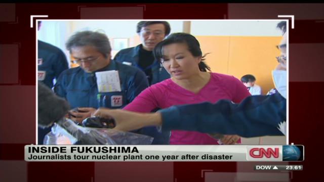 Inside Japan Nuclear Plant