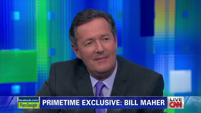 Piers Morgan and Bill Maher on Santorum