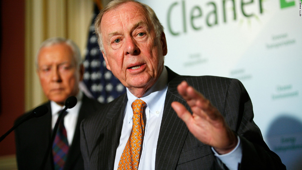 Founder, Chairman and CEO at BP Capital and TBP Investments Management, T. Boone Pickens started out as a paperboy in his native Holdenville, Oklahoma.