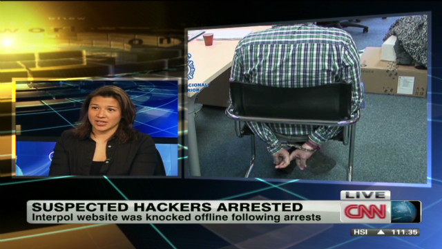 Suspected 'Anonymous' hackers arrested