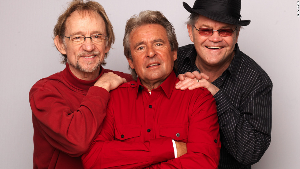 Tork, from left, Jones and Dolenz pose during a portrait session to announce the band's 45th anniversary tour  in London in 2011.