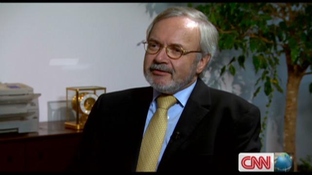 EIB president Werner Hoyer