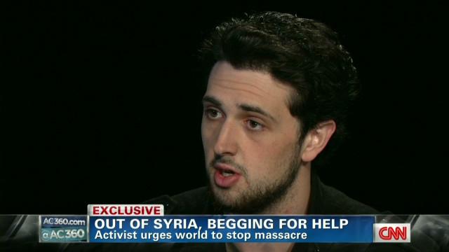 Activist: Assad will have to kill us all