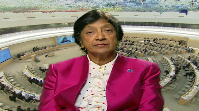 Pillay: Getting aid to Syria is critical