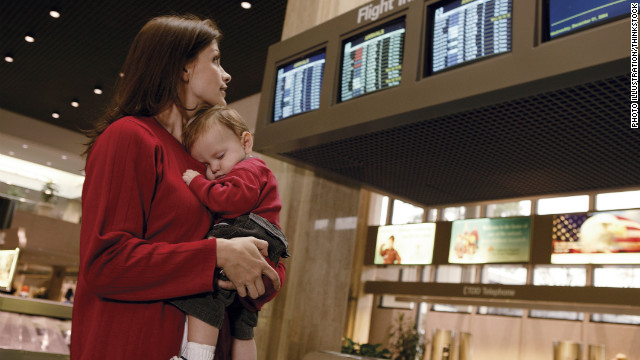 Does a baby belong in first class? Fliers are split on the answer.