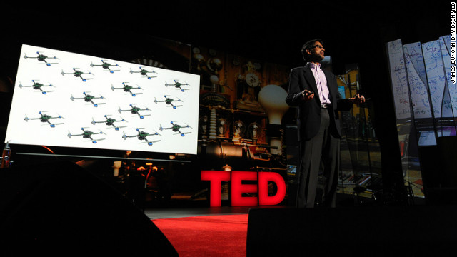 Vijay Kumar: Robots that fly and team up