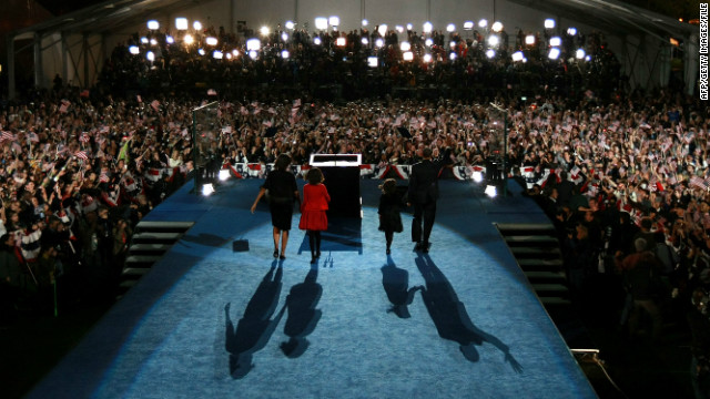 Like Barack Obama in 2008, Republican candidates hope they'll have a reason to celebrate on November 06 this year.