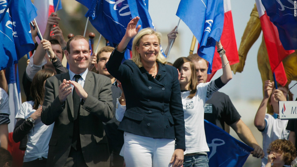 Marine Le Pen's National Front, a controversial far right party, hopes Europe's financial woes will lead to a big showing for the French nationalist party at the polls.