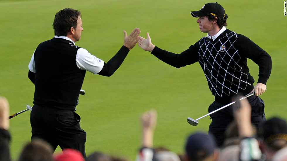"His debut in the Ryder Cup was equally successful as Europe beat the U.S. team at Celtic Manor Resort, Wales in October 2010. His paring with fellow countryman <a href=""http://edition.cnn.com/2010/SPORT/golf/10/04/golf.ryder.cup.europe/index.html"">Graeme McDowell </a>was one of the highlights of the match."