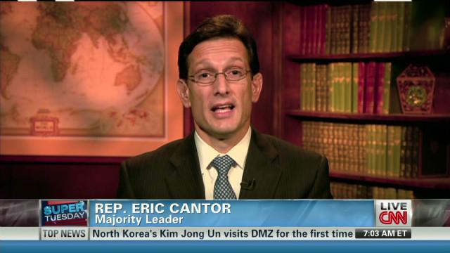 Rep. Cantor explains Romney endorsement