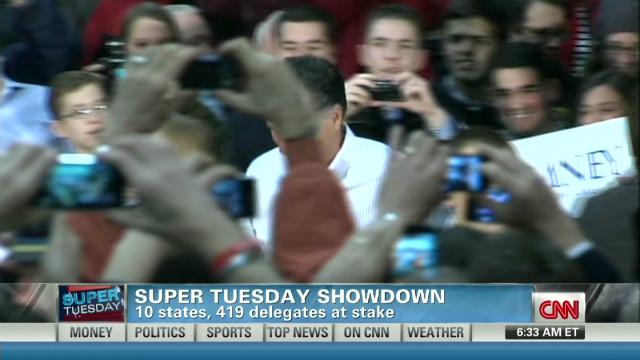 Sabre-rattling for Super Tuesday votes?