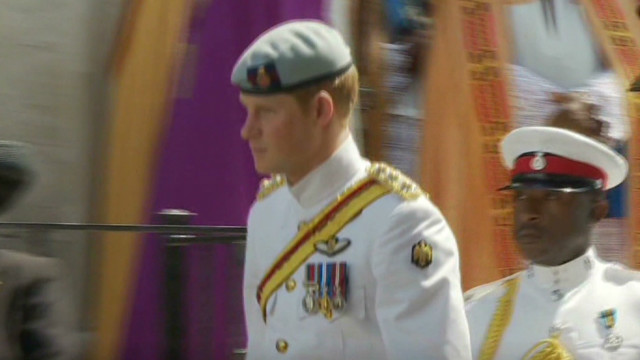 Prince Harry tours Caribbean
