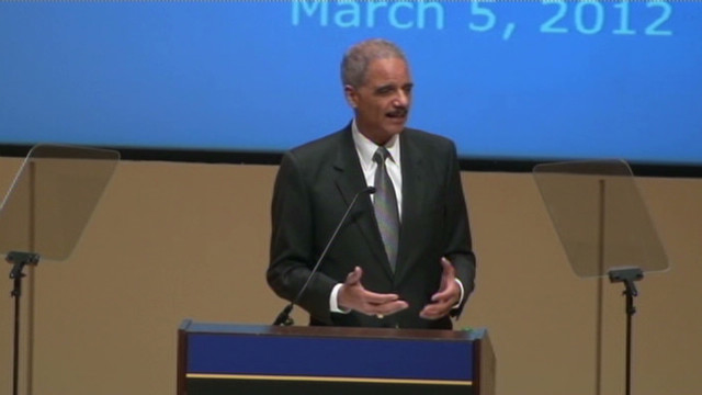 Holder: U.S. can kill citizen terrorists