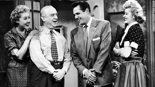 """I Love Lucy"" pioneered the multicamera approach to situation comedies."