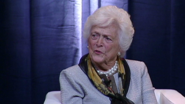 Barbara Bush: not 'too many Bushes'