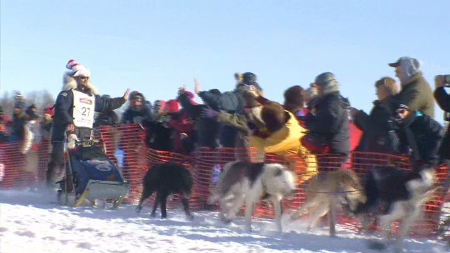 Alaska's Iditarod is underway