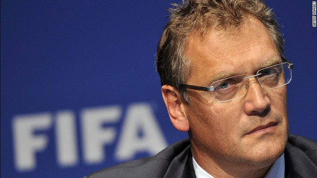 Jerome Valcke: Match-fixing a 'disease'