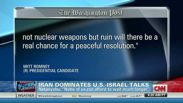 DNC chair: Iran military option on table