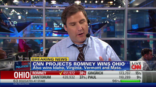How CNN projected Ohio win