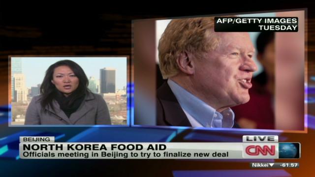 U.S. food aid heading to North Korea