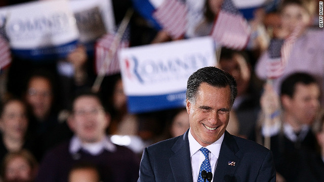 Mitt Romney, shown speaking March 6 in Boston, has tried to paint President Obama as weak on national security.