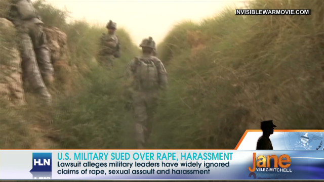 Eight military women say they were raped