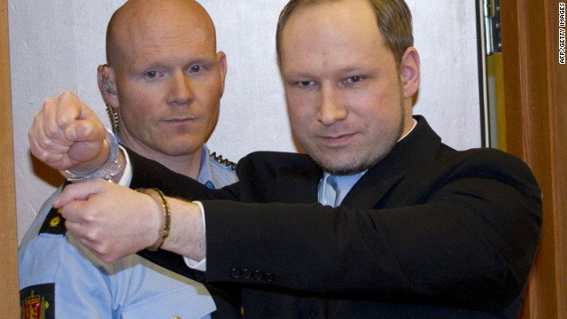 The trial of right-wing extremist Anders Breivik, who admits killing 77 people last year, is under way this week in Oslo, Norway.