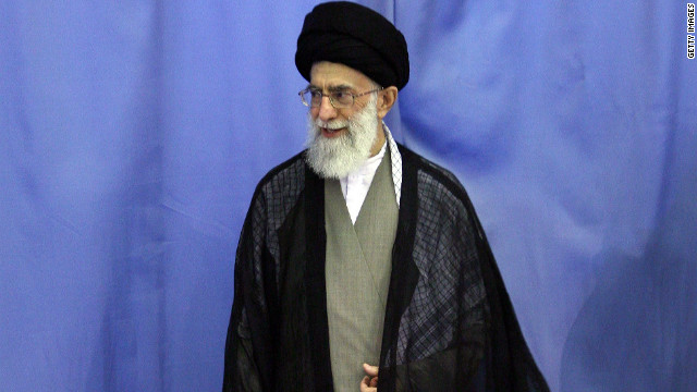 (file photo) Ayatollah Ali Khamenei has criticized Barack Obama's threat to impose more sanctions on Iran.