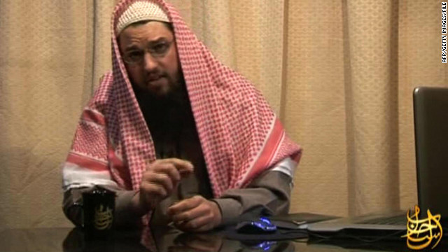 An image grab released by Al-Qaeda-linked media group as-Sahab in 2008 shows Adam Gadahn.