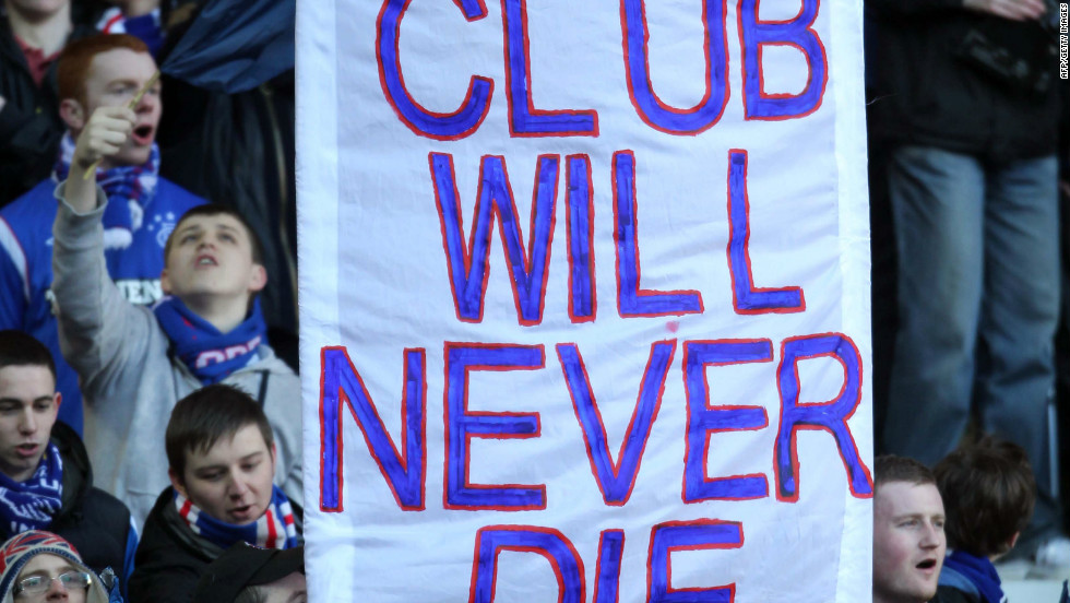 Rangers fans have reacted with bewilderment to the developments at Ibrox, venting their anger at the club's owner Craig Whyte and his predecessor David Murray. But they are adamant their club will survive.