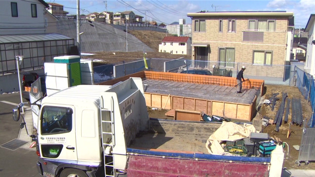 Quake town's reconstruction boom