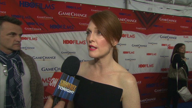Julianne Moore talks playing Sarah Palin