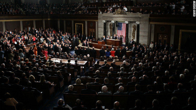 President Barack Obama addresses a Joint Session of Congress at the U.S. Capitol September 8, 2011, in Washington.