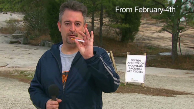 Future triathlete quits smoking on TV