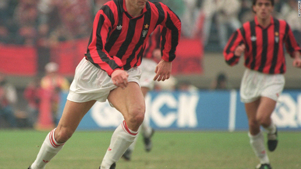 The first player to score four times in a match after the old European Cup was rebranded was Dutch master Marco van Basten. He grabbed all of AC Milan's goals in a 4-0 win over Sweden's IFK Goteborg in 1992.