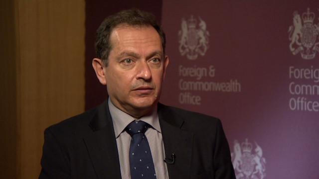 UK amb to Syria: No future with Assad