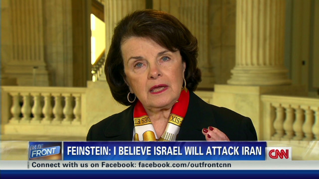 Feinstein on Iran: 'Israel will attack'