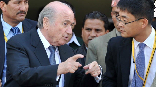 Sepp Blatter has been in Kathmandu this week for the opening ceremony of the AFC Challenge Cup.